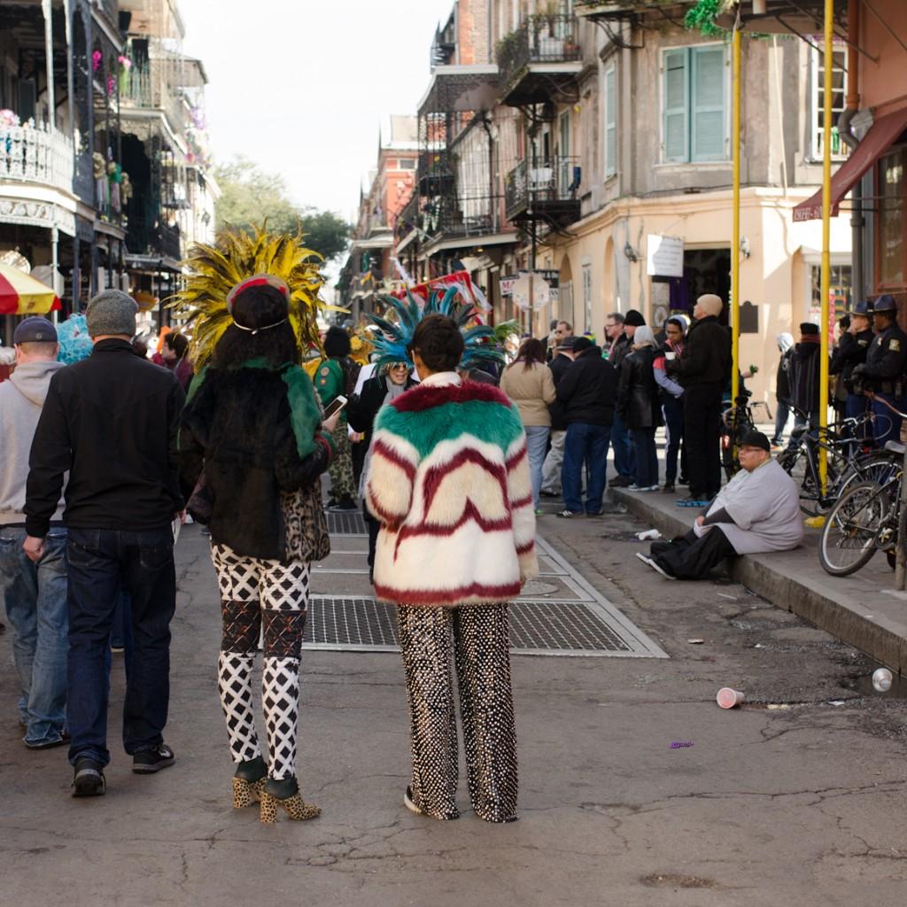 Solange Piaget Knowles mardi gras costume