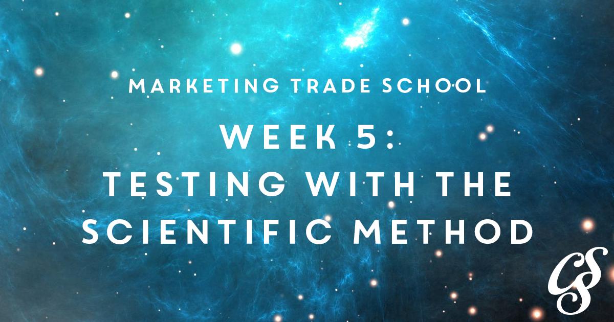 Scientific Method in Marketing - how to split test ads